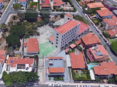 Vista del edificio de la urbanización Zurbarán