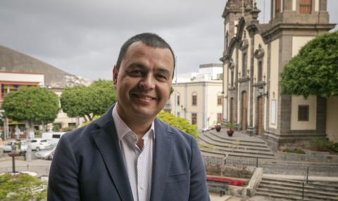 Pedro Rodríguez candidato de Juntos por Guía - Nueva Canarias