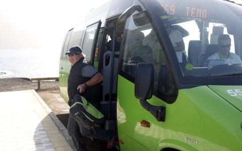 Línea 369 a Punta de Teno