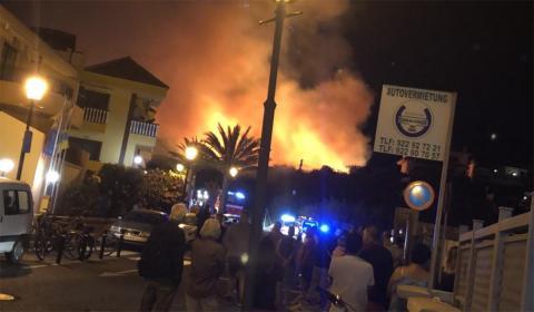 Incendio de Valle Gran Rey