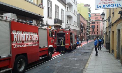 Incendio en la calle Malteses