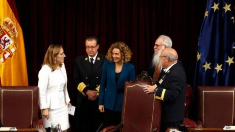 Meritxell Batet, presidenta del Congreso de los Diputados