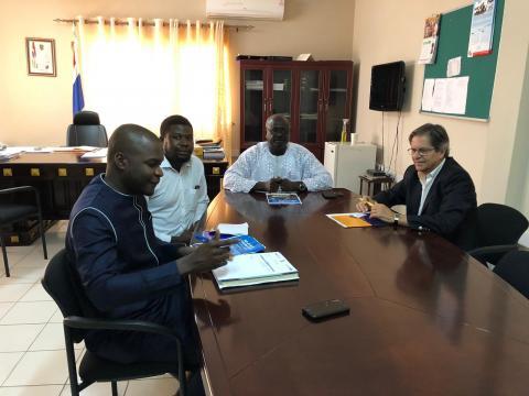 Reuniones de trabajo en Gambia