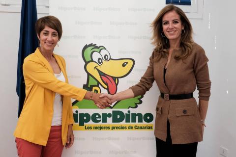 Onalia Bueno y Olivia Llorca