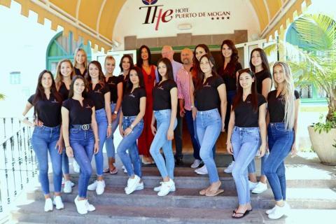 Las candidatas a Miss Universo Las Palmas en Mogán