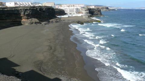 Playa de San Borondón, Telde