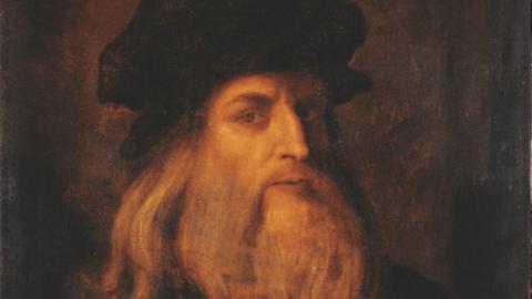 Posible autorretrato de Leonardo da Vinci.