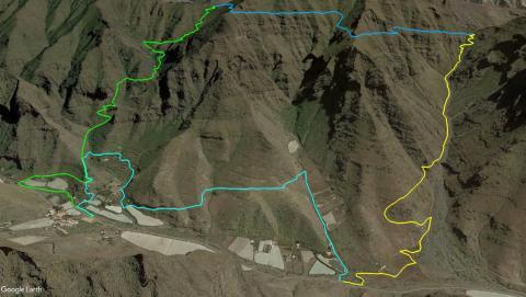 """Trazado de la """"Guguy Trail EntreCorrales Tasartico 2019"""""""