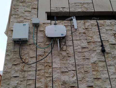 Red Insular de sensores para medir la calidad del aire