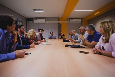 Reunión de Cs con los sindicatos en LPGC