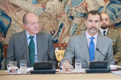 Reyes Felipe Vi y Juan Carlos I