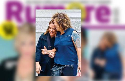 Toñi Moreno y Rosana en la portada | Rumore