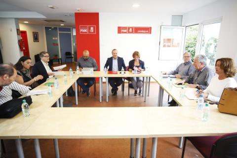 Representantes PSOE, Unidas Podemos y Nueva Canarias en Las Palmas de Gran Canaria