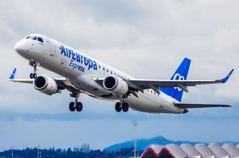 Avión de Air Europa Express