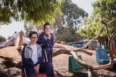 alumnas del Colegio Nuryana.
