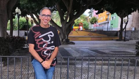 Daniel Martín Castellano, actual Director del C.E.I.P. San Lorenzo