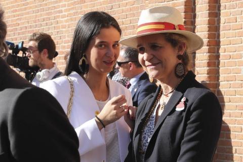 Victoria Federica y la infanta Elena