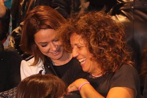 Toñi Moreno y Rosana Arbelo