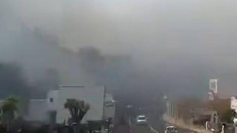 Incendio en Santa Úrsula, Tenerife