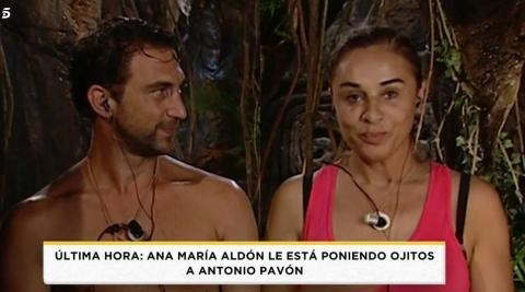 Antonio Pavón y Ana María Aldón en Supervivientes