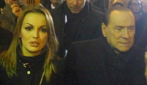 Berlusconi y Francesca Pascale