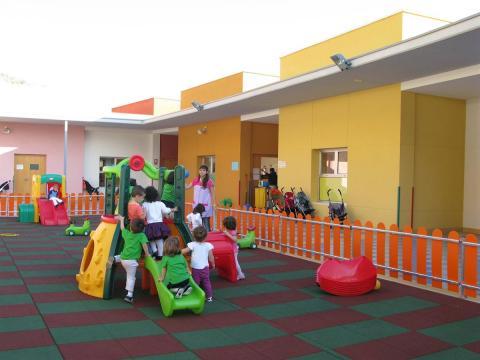 Niños en la escuela municipal infantil de Las Palmas de Gran Canaria