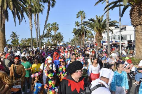 Coso del carnaval de Puerto de la Cruz