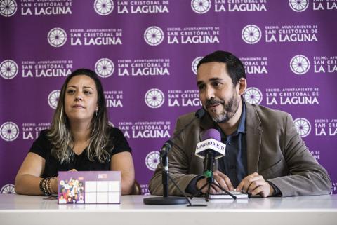 Idaira Afonso y Rubens Ascanio