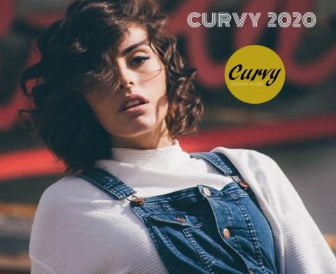 Cartel de Curvy Fashion Model 2020