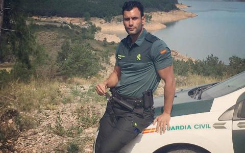 El Guardia Civil Jorge Pérez