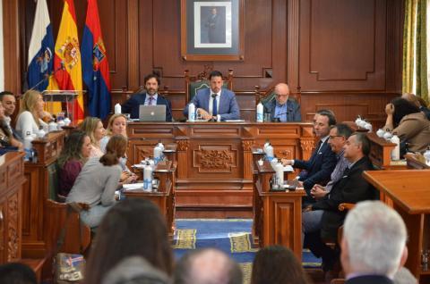 Pleno del Ayuntamiento de Telde