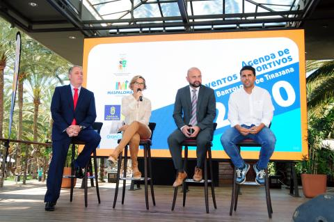 San Bartolomé de Tirajana presenta la Agenda Anual de Deportes 2020