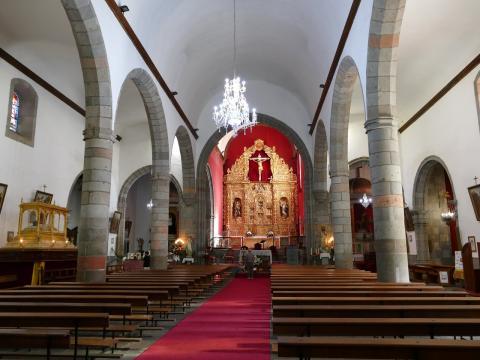 Interior de la Basílica de San Juan en Telde