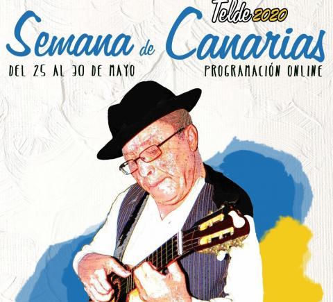 Cartel Día de Canarias de Telde