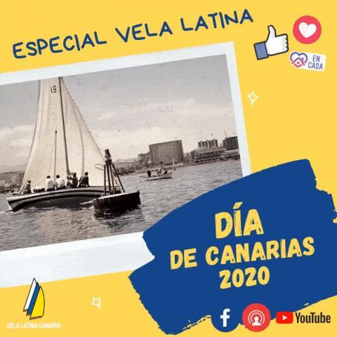 Vela Latina Canaria el Día de Canarias