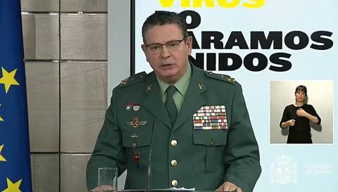 Laurentino Ceña. Director Adjunto Operativo de la Guardia Civil