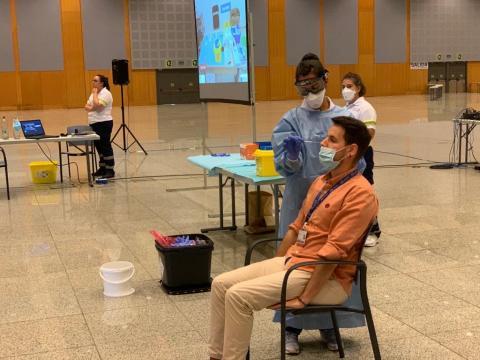 La Gerencia de Atención Primaria de Gran Canaria forma a sanitarios sobre Covid-19