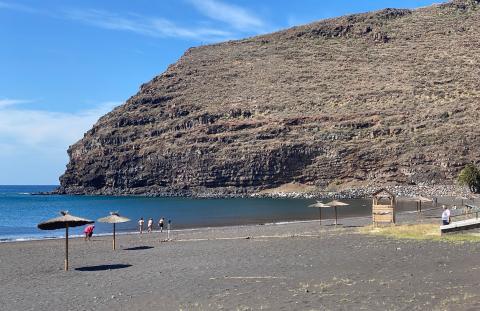 Playa de San Sebastián de La Gomera