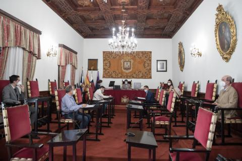 pleno del Ayuntamiento de San Cristóbal de La Laguna
