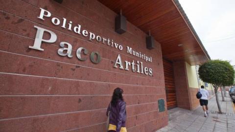 Polideportivo Paco Artiles en Telde