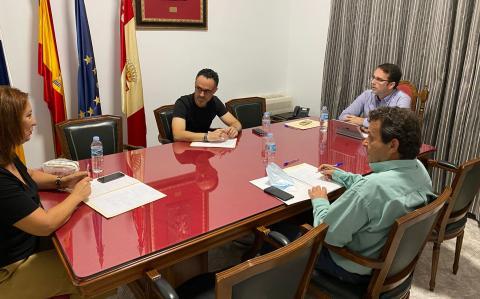 reunión de portavoces del Ayuntamiento de San Sebastián de La Gomera
