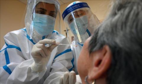 test de coronavirus en residencia de mayores