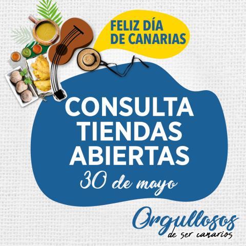 Supermercados HiperDino abiertos en el Día de Canarias