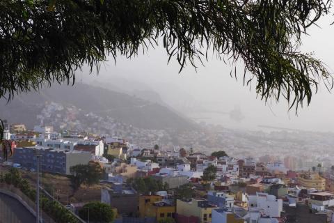 viento en Canarias