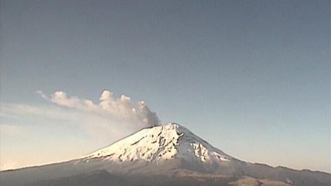 volcán Popocatéptl