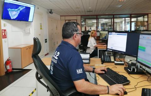 Sala de Operaciones 112-Canarias