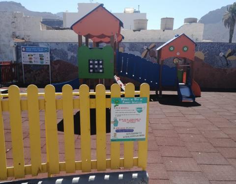 Parque infantil de La Aldea. Gran Canaria