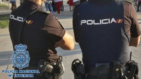 Policía Nacional. Las Palmas de Gran Canaria