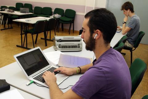 EBAU alumnos con discapacidad visual