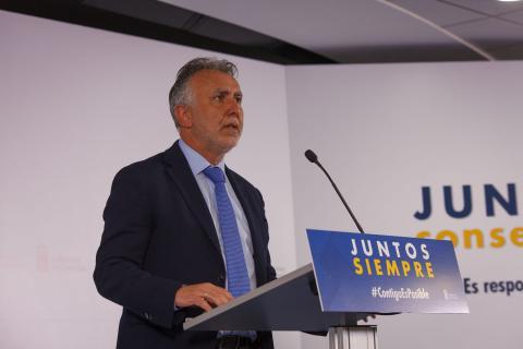 Ángel Víctor Torres. Presidente de Canarias